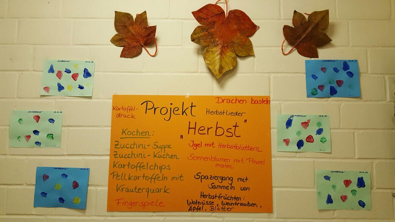 schnellstart On projekt kindergarten herbst
